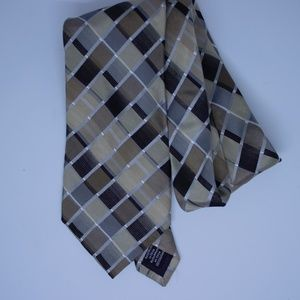 Van Heusen Men's Tie Neutral Colors
